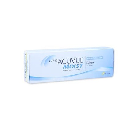 1-Day Acuvue Moist for Astigmatism - 30 Lenti a Contatto
