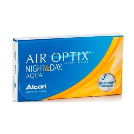 Air Optix Night&Day Aqua - 3 Lenti a contatto