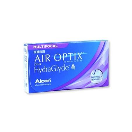 Air Optix Plus HydraGlyde Multifocal - 3 Lenti a contatto