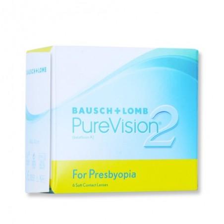 PureVision2 HD for Presbyopia - 6 Lenti a Contatto